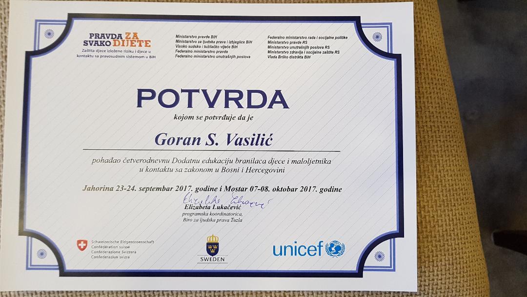 Goran S. Vasilić advokat - Maloljetnici u krivičnom postupku